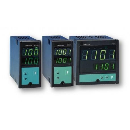 Regulátor teploty konfigurovatelný on-off-pid Gefran 1000/1001/1101