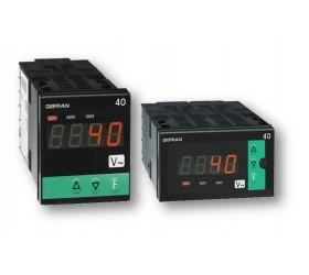 Zobrazovač AC proudu a napětí, jednotka alarmu Gefran 40A48
