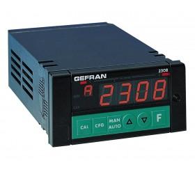 8 kanálový zobrazovač s alarmem mezních hodnot Gefran 2308