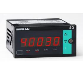 Zobrazovač hodnot Gefran 40B96